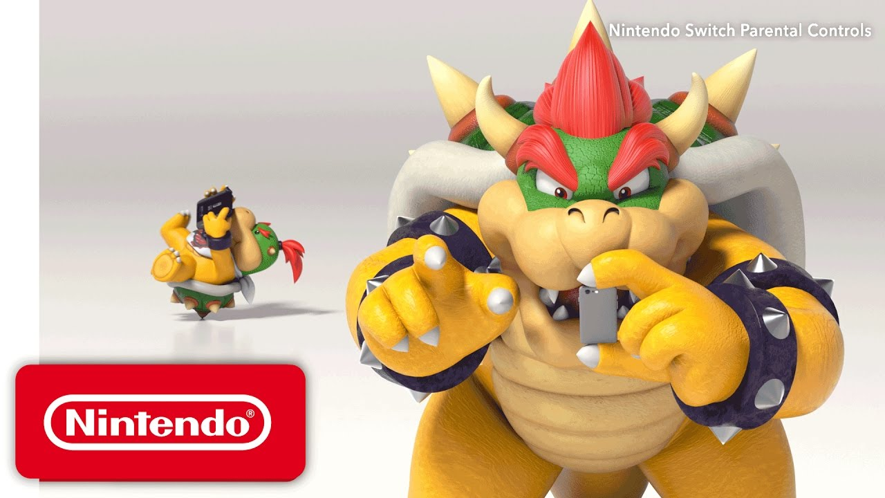 Bowser con un iPhone - Nintendo