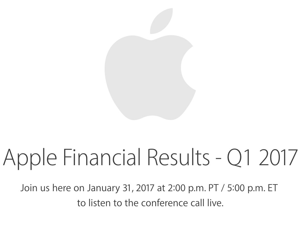 Resultados financieros de Apple