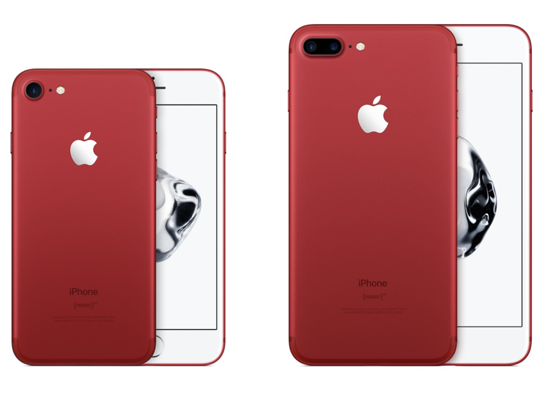 iPhone 7 rojo PRODUCT(RED)