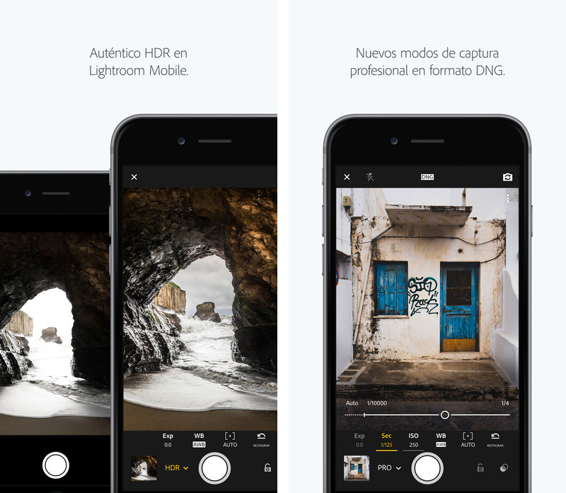 Lightroom para iPhone