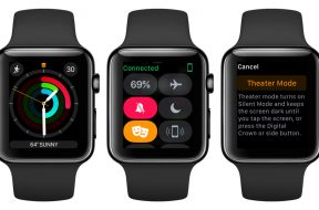 Modo cine en el Apple Watch