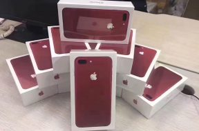 iPhone 7 (PRODUCT)RED saliendo de China