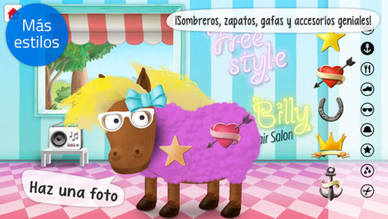 Silly Billy - Hair Salon: Peina a tus animales