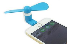 Ventilador en el iPhone