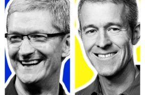 Tim Cook y Jeff Williams