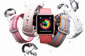 Apple Watch en agua