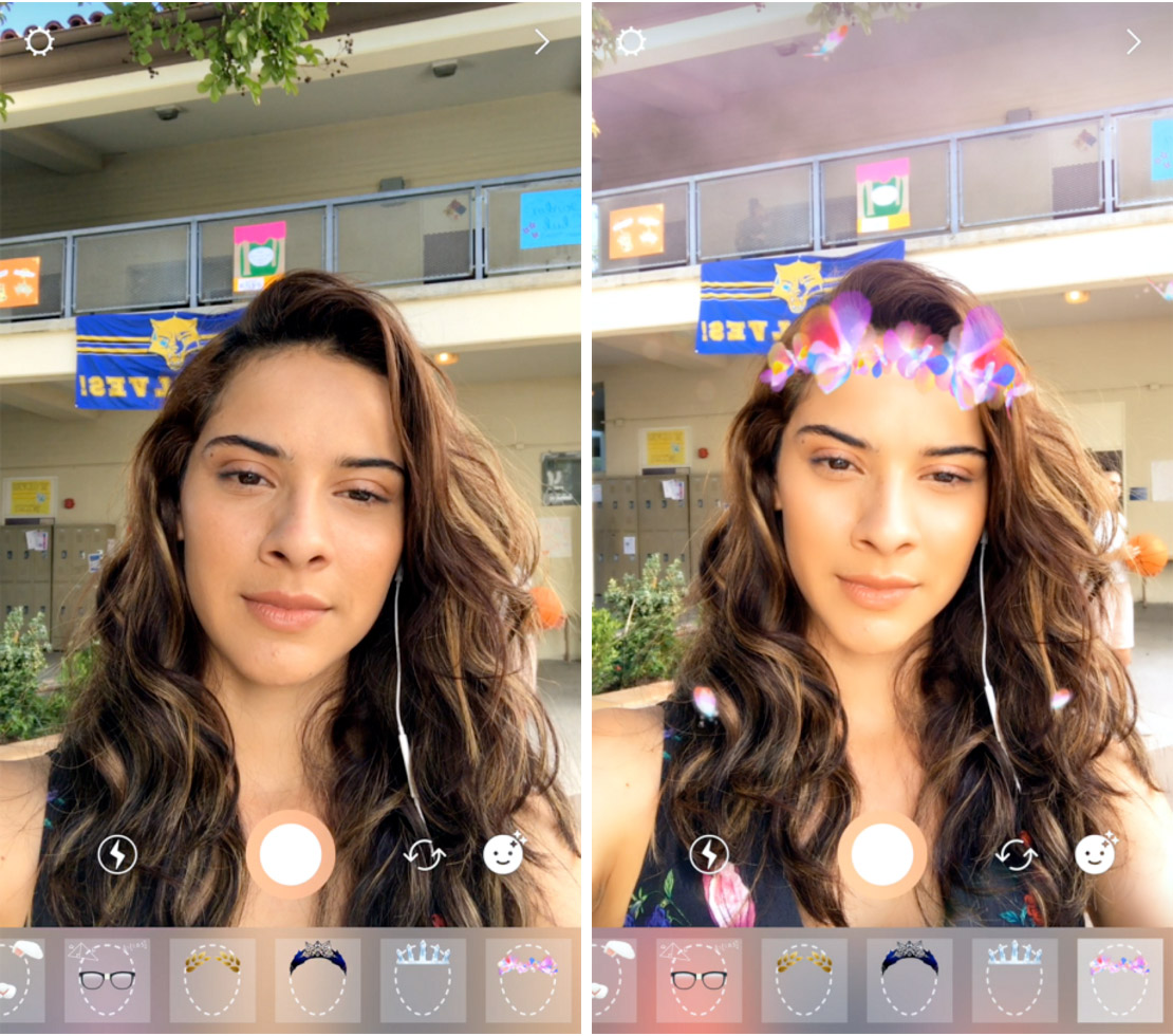 Face Filters de Instagram