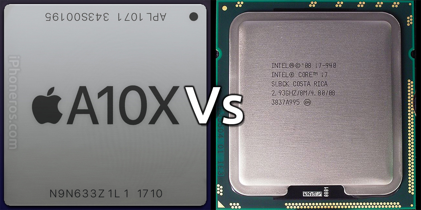 Apple A10X vs Intel Core i7