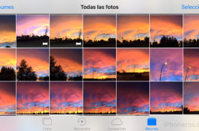Fotos en iOS 10 e iOS 11