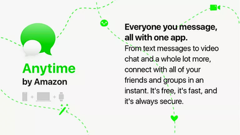 Amazon Anytime Instant Messaging App