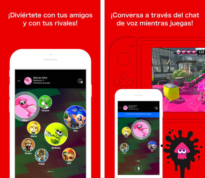 App de la Nintendo Switch