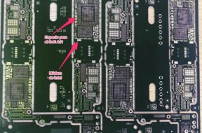Supuesta placa base del iPhone 8