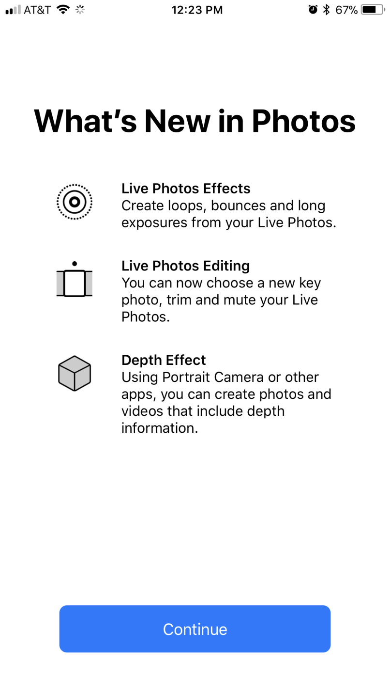 What's New in the Photo App