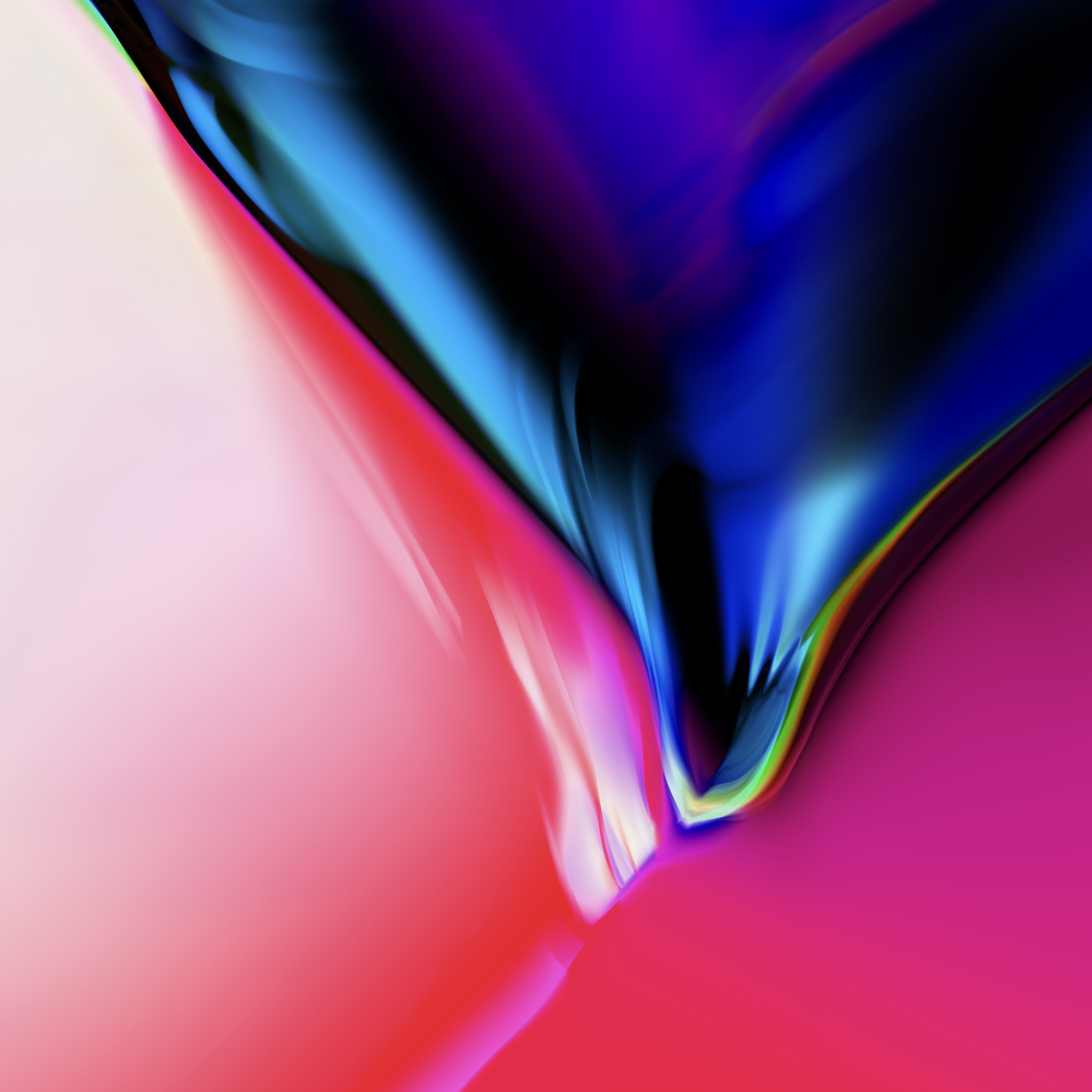 Wallpaper of iOS 11 for iPhone