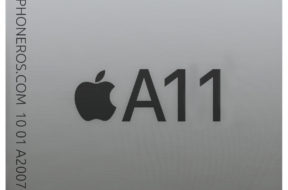 Dibujo de un SoC A11 de Apple