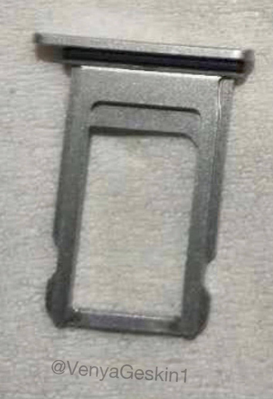 Supposed SIM tray of the iPhone Edition