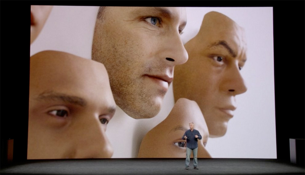 Máscaras creadas por Apple para intentar engañar a Face ID