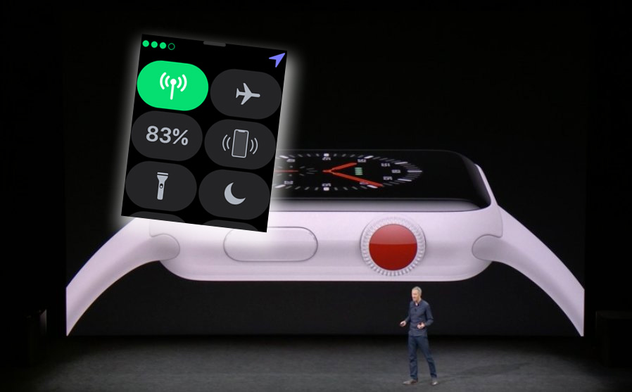 Radio LTE en el Apple Watch