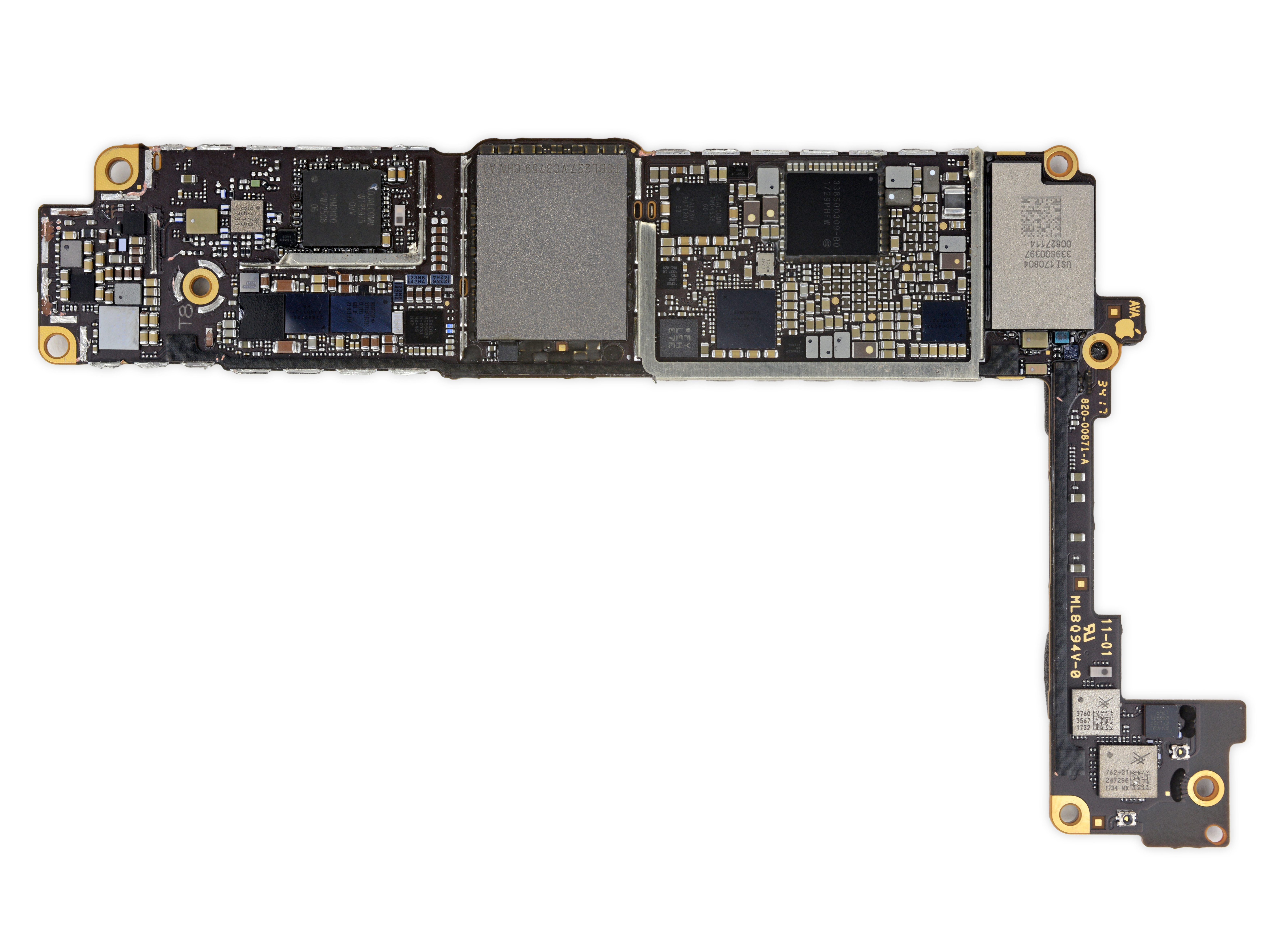 Placa base del iPhone 8