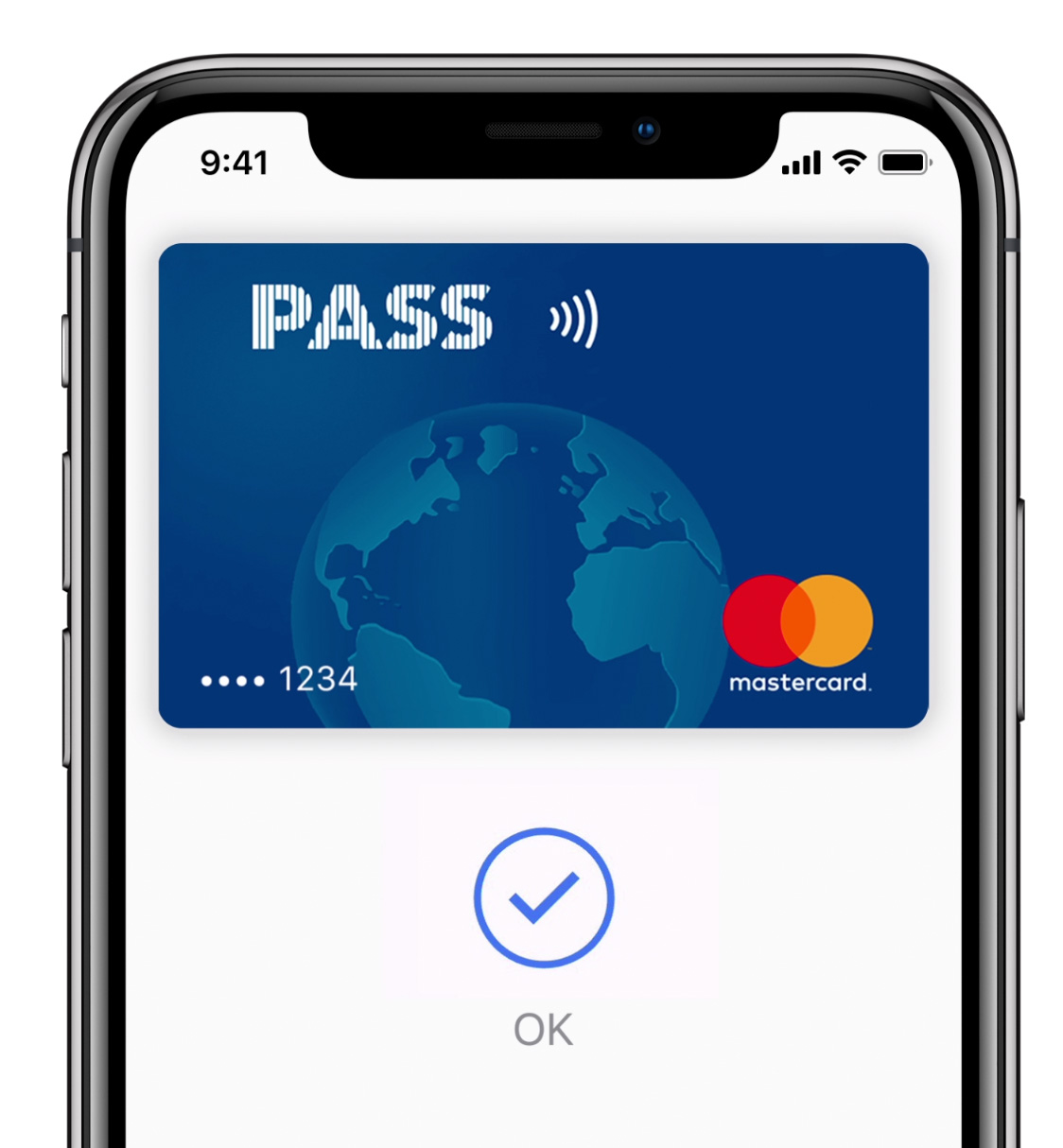 Apple Pay en el iPhone X