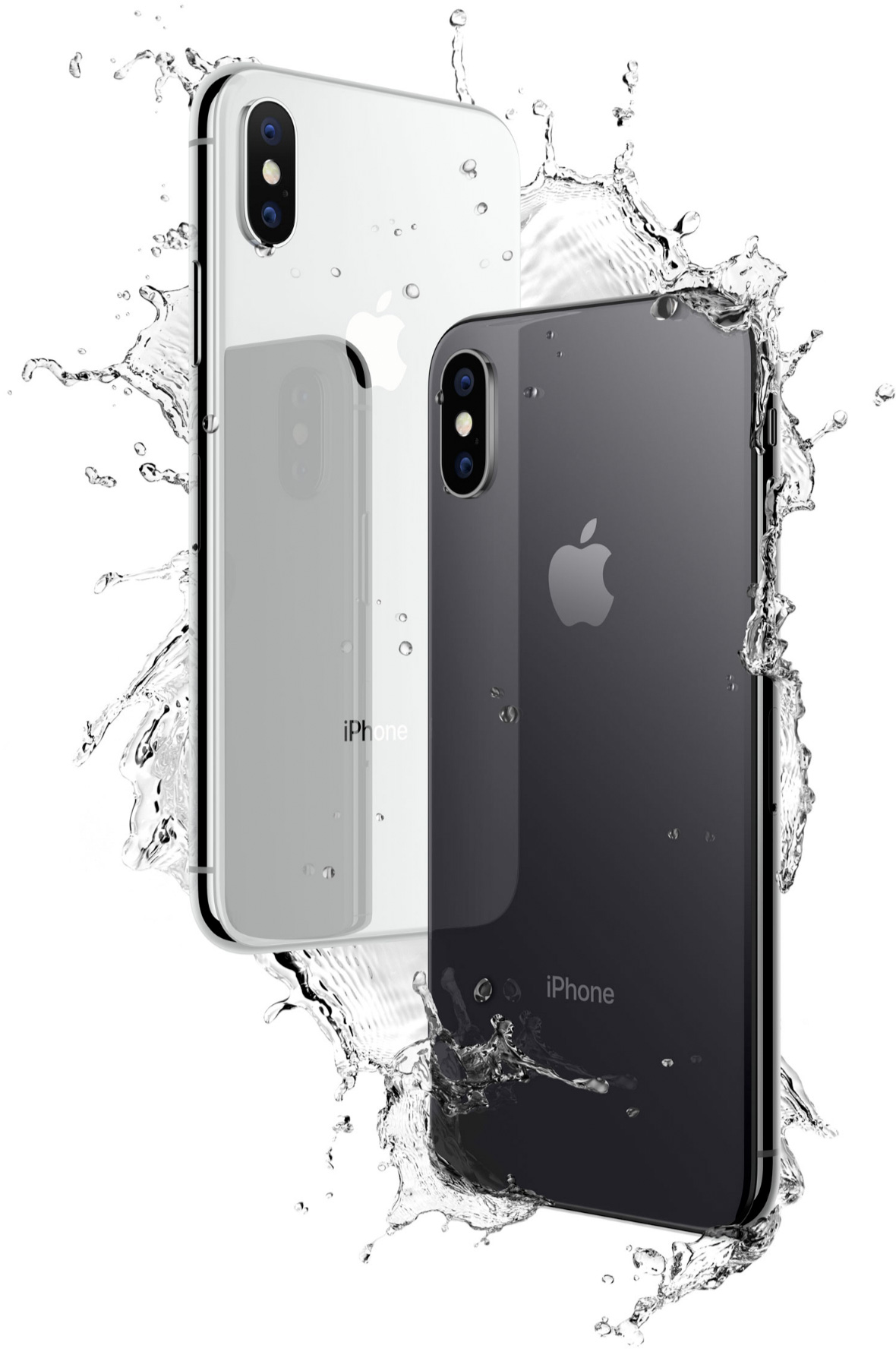 iPhone X resistente al agua