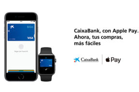 Apple Pay funciona con CaixaBank