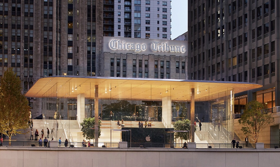 Nueva Apple Store de Chicago Michigan Avenue