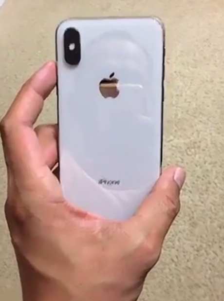 iPhone X blanco