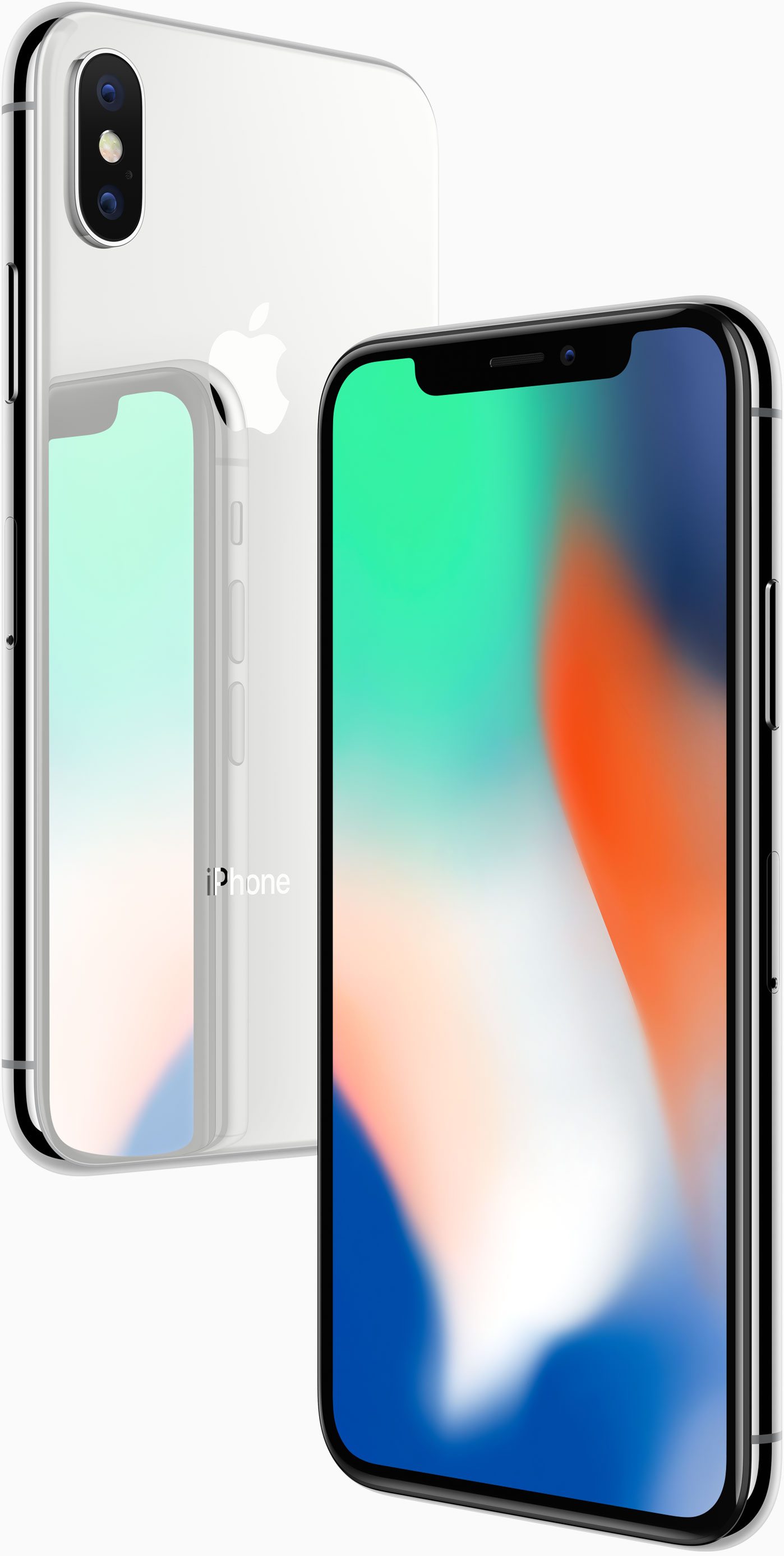 iPhone X plateado