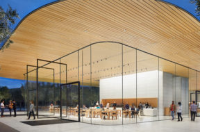 Visitor Center del Apple Park