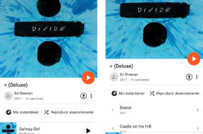 Google Play Music para iPhone X