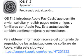 iOS 11.2 ya disponible