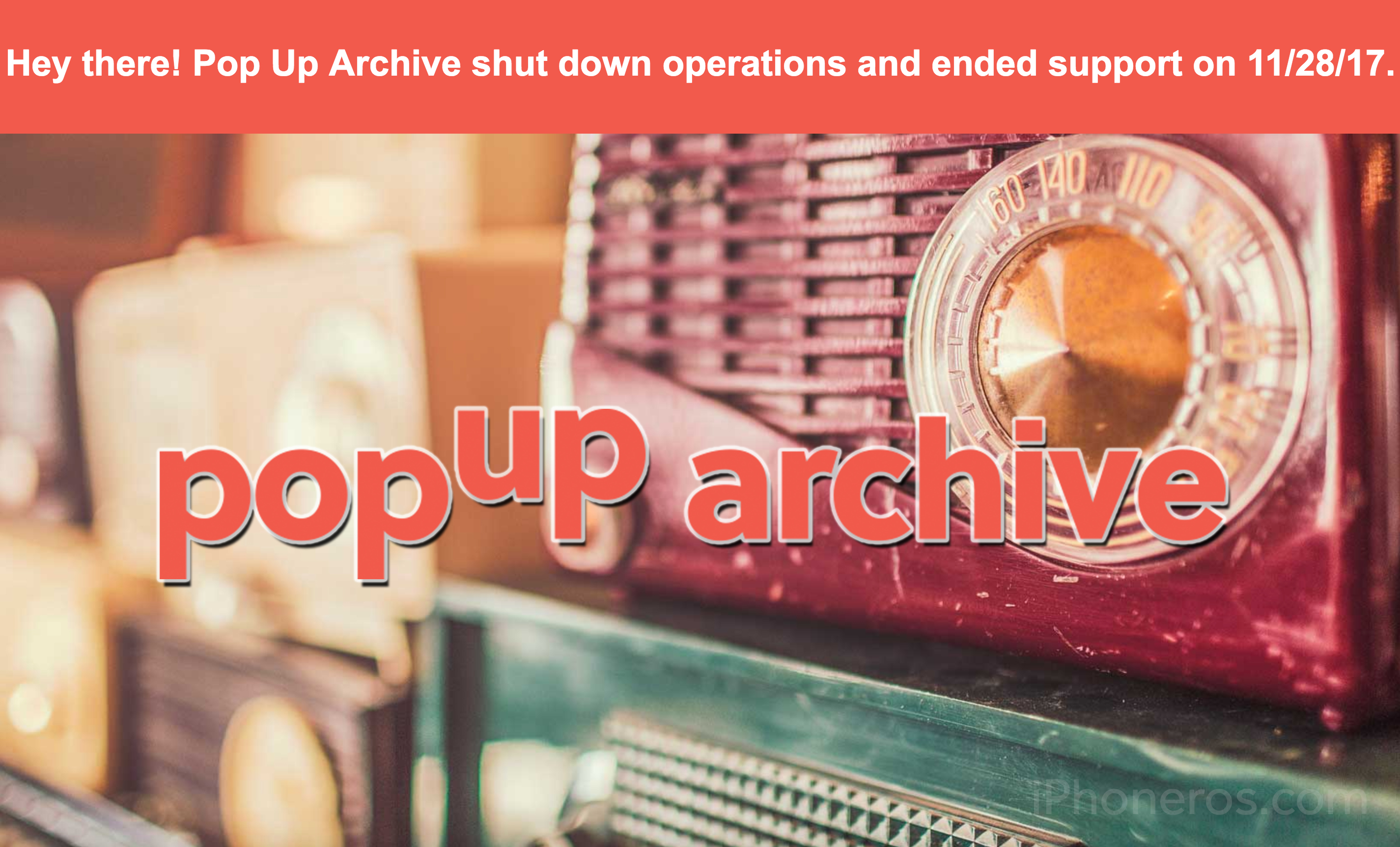 Pop Up Archive
