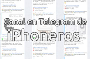 Canal de iPhoneros en Telegram