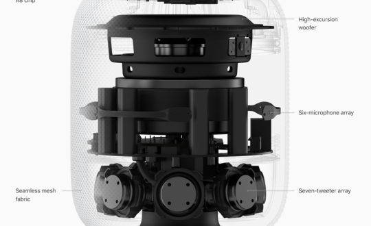 HomePod por dentro