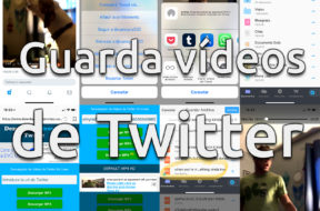 Guardar vídeos de Twitter en el iPhone
