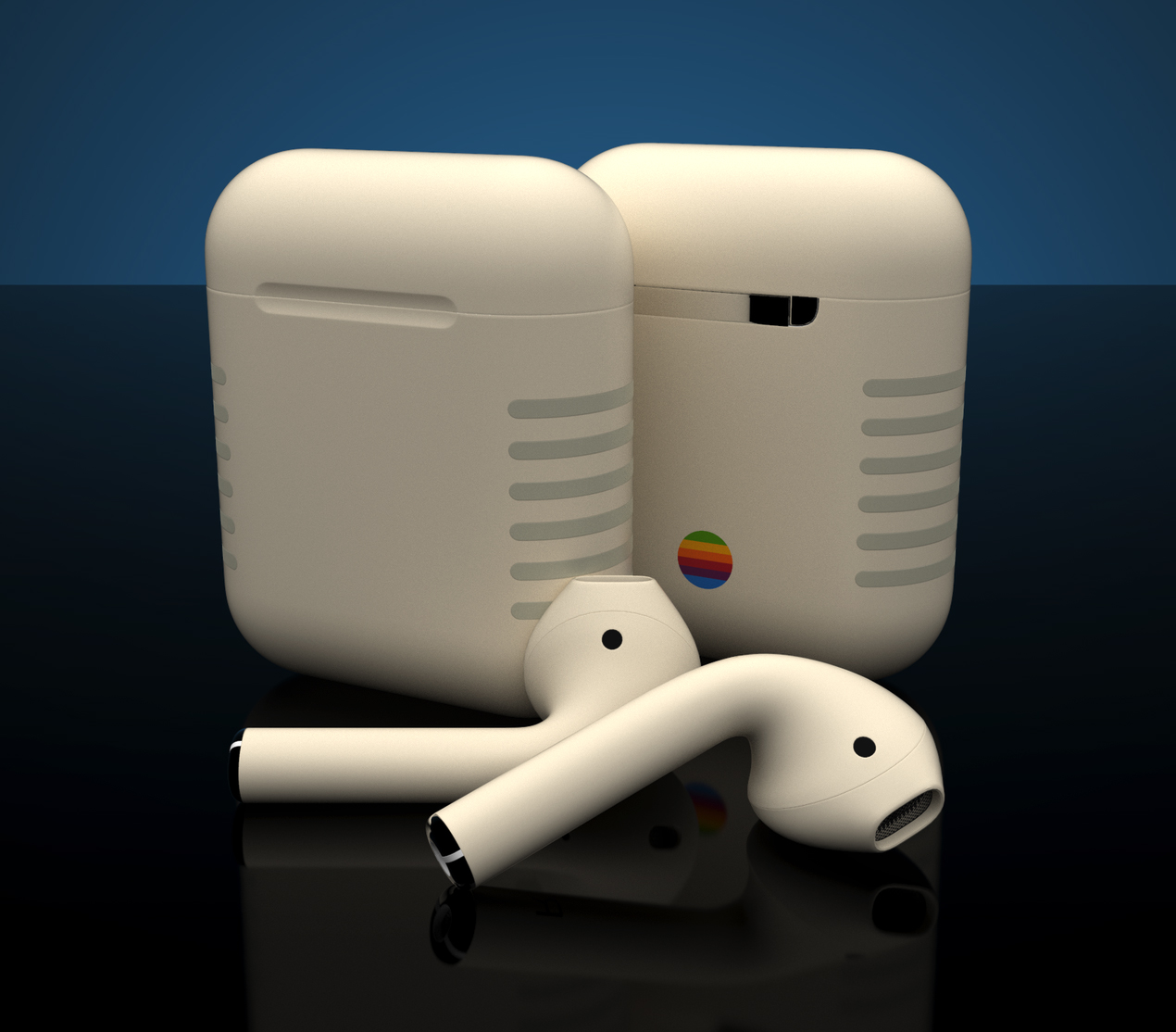 Airpods retro de Colorware