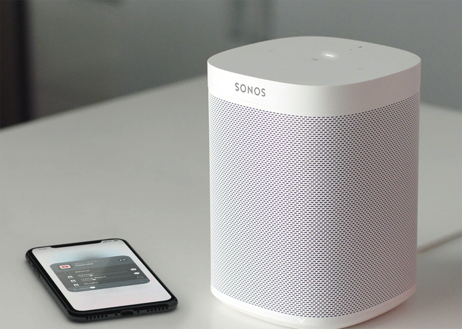 Altavoz Sonos One con AirPlay 2