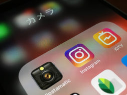 Apps de Instagram e Hipstamatic