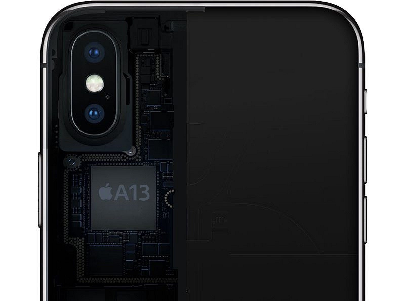 SoC A13 en un iPhone X