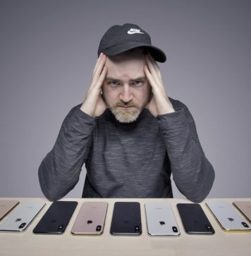 Problemas con el iPhone XS en unbox therapy