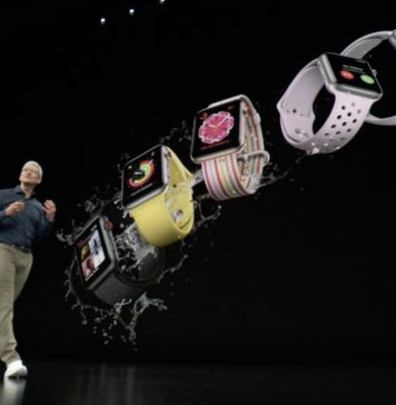 Keynote de presentación del iPhone XS, XS Max y XR Apple Watch
