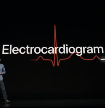 Keynote de presentación del iPhone XS, XS Max y XR Apple Watch Electrocardiograma