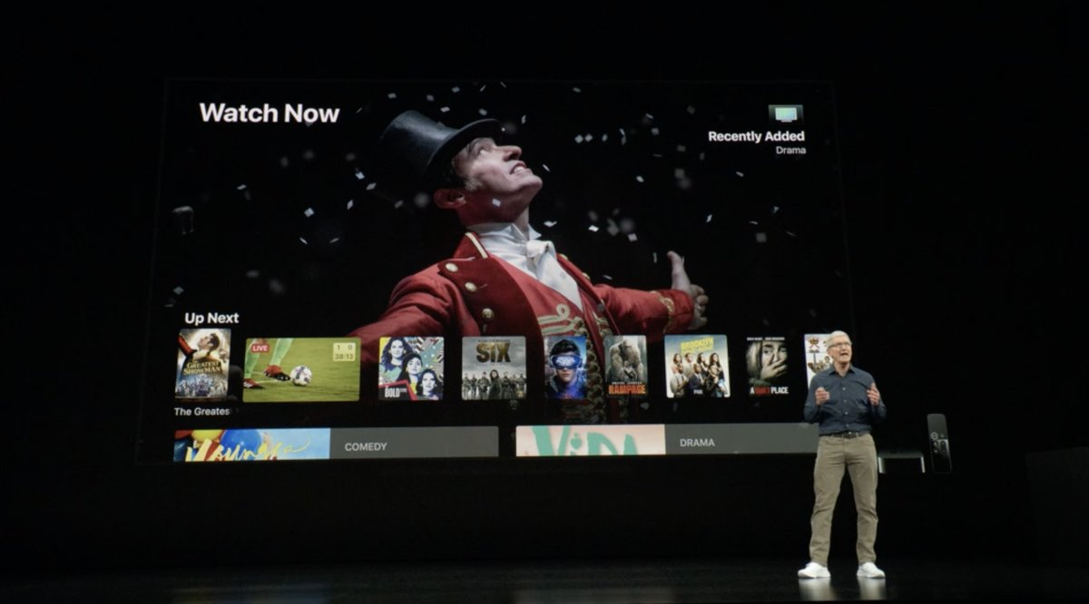 Keynote de presentación del iPhone XS, XS Max y XR - Apple TV