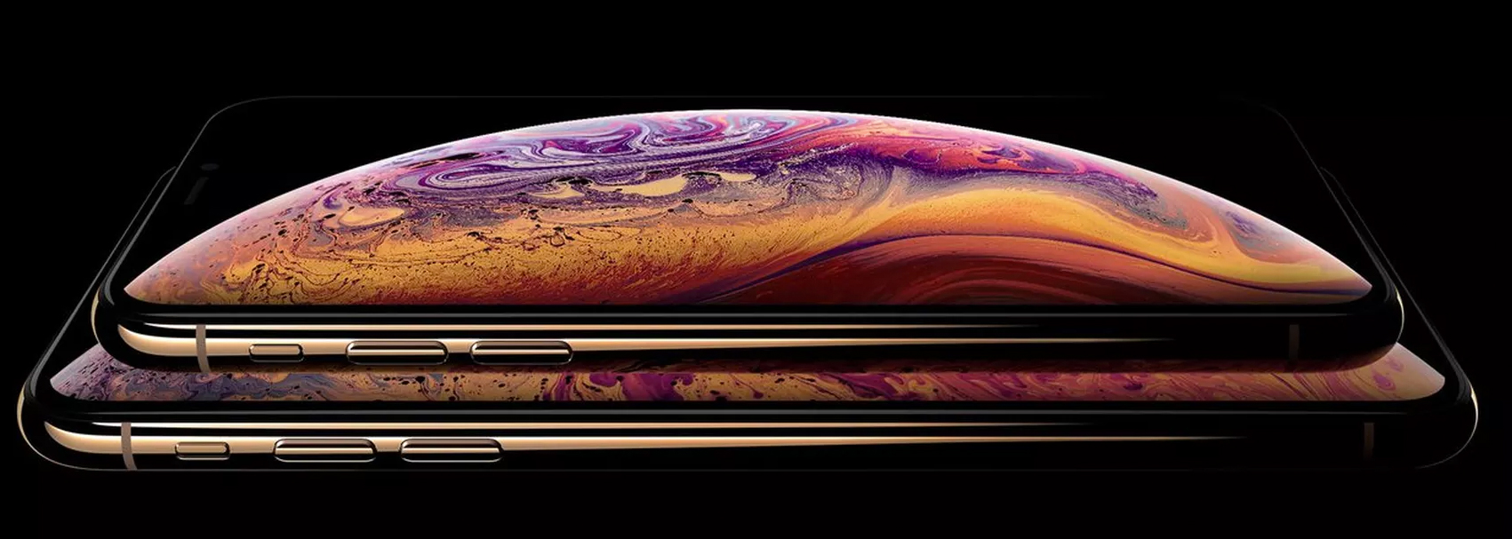 iPhone XS y XS Max en color dorado