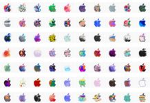 370 logotipos de Apple para la Keynote