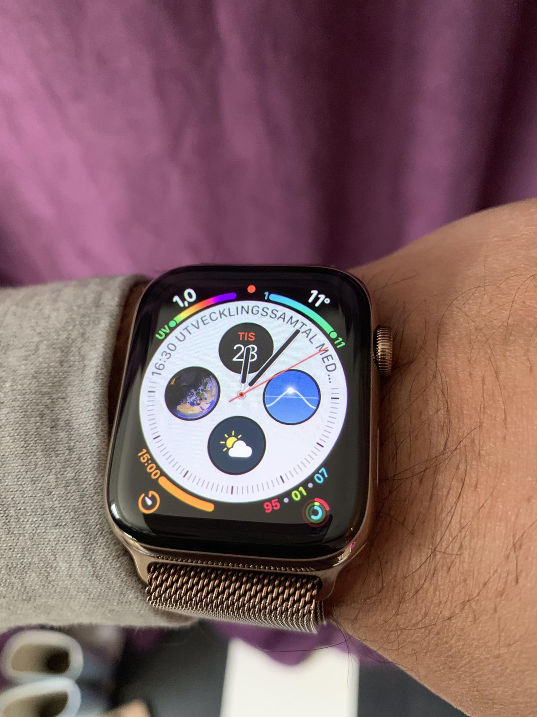 Apple Watch Series 4 del Sr. Gustavo Rodriguez