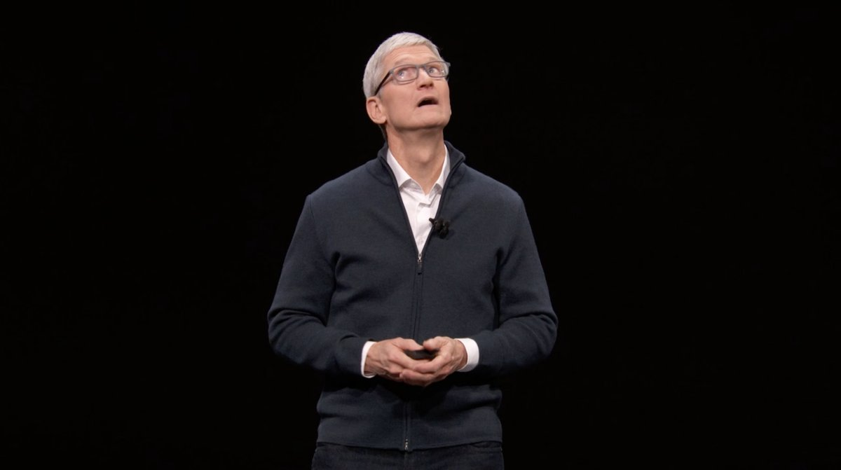 Tim Cook: Evento de presentación del iPad Pro todo pantalla, del Mac mini y del MacBook Air Retina