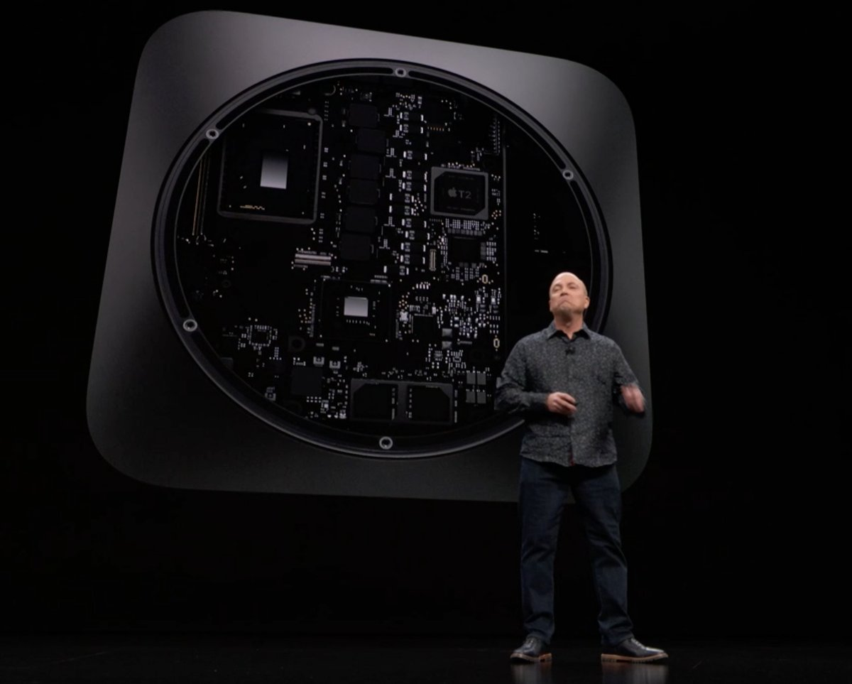 Mac mini con 6 núcleos: Evento de presentación del iPad Pro todo pantalla, del Mac mini y del MacBook Air Retina