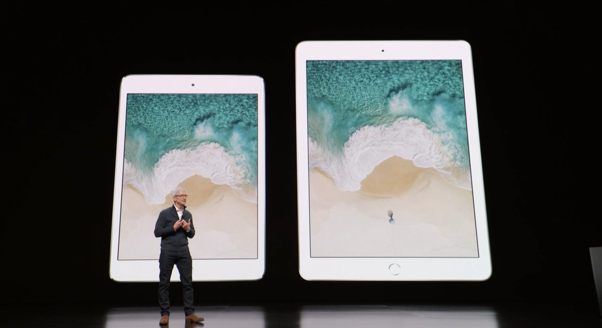 Tim Cook - iPad: Evento de presentación del iPad Pro todo pantalla, del Mac mini y del MacBook Air Retina